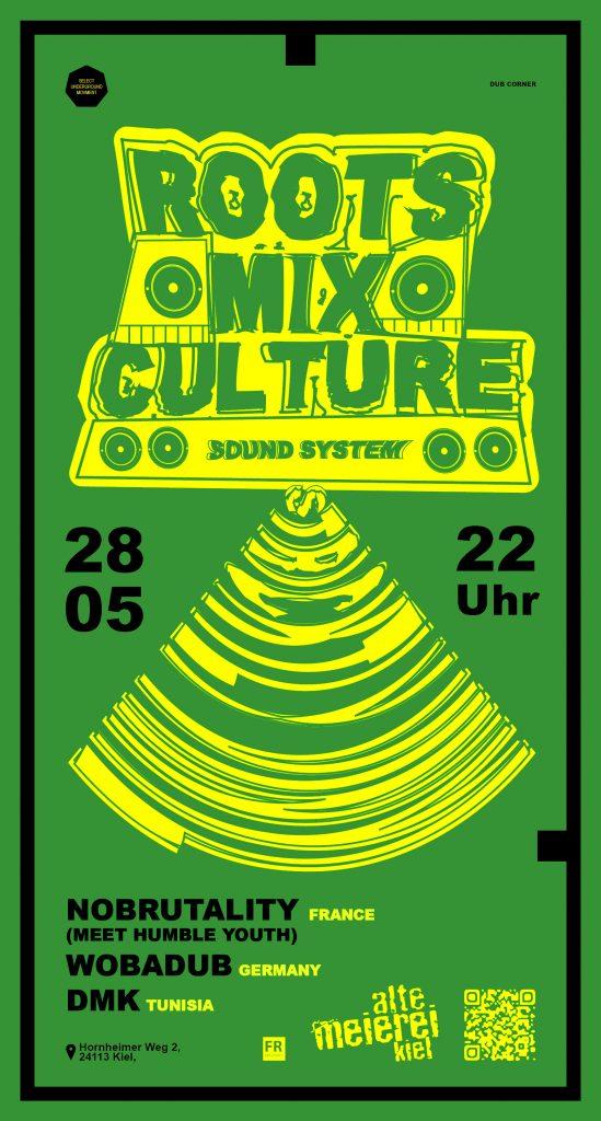 Roots Mix Cultre-01darkgreen