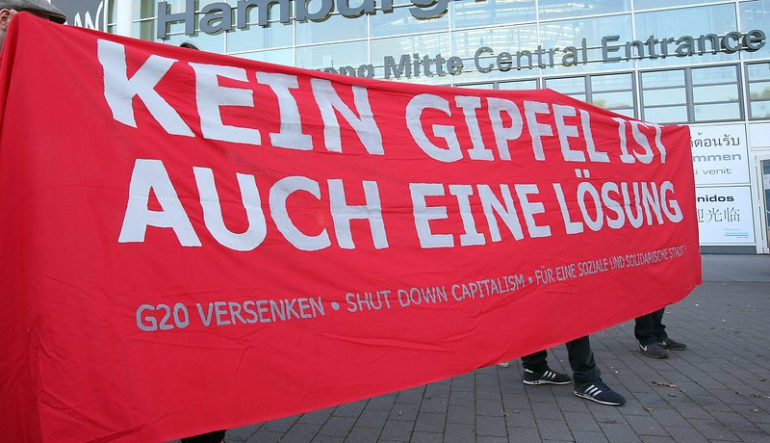 Den G20-Gipfel in Hamburg versenken!