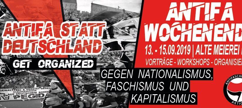 Go Get Organized  – Antifa-Wochenende 2019