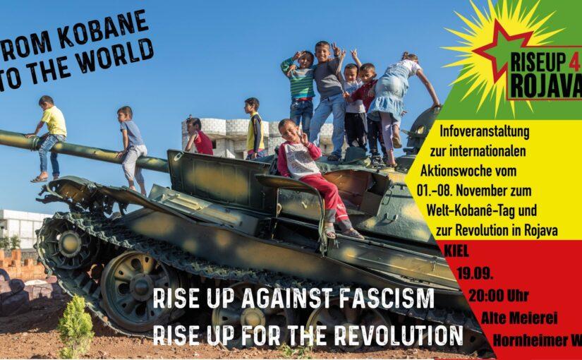 Riseup4Rojava-Infoveranstaltung zum Welt-Kobanê-Tag 2020